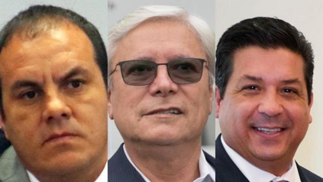 """""""EN CAPILLA"""", 3 GOBERNADORES"""