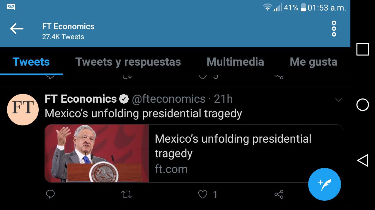 """UNA """"TRAGEDIA"""" ACECHA A MÉXICO"""