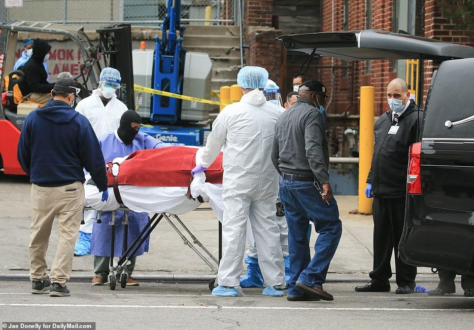 EN NUEVA YORK, 330 MUERTES EN UN DIA