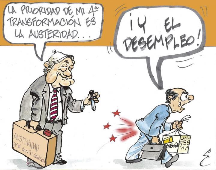 CIFRAS DE PÁNICO EN DESOCUPACIÓN