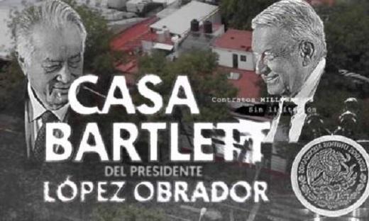 """OTRO """"FAVOR"""" DE BARTLETT A LÓPEZ OBRADOR"""