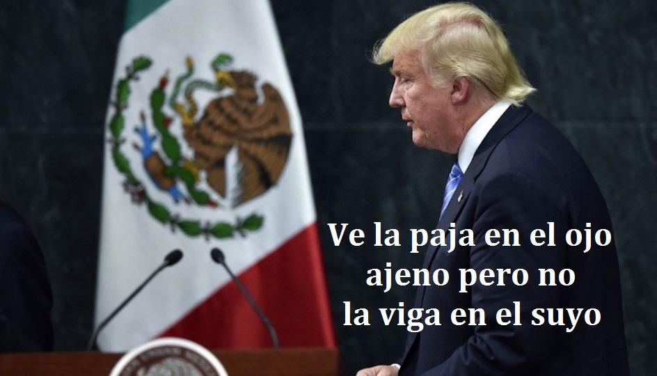 """MÉXICO, CON """"GRANDES PROBLEMAS"""": TRUMP"""