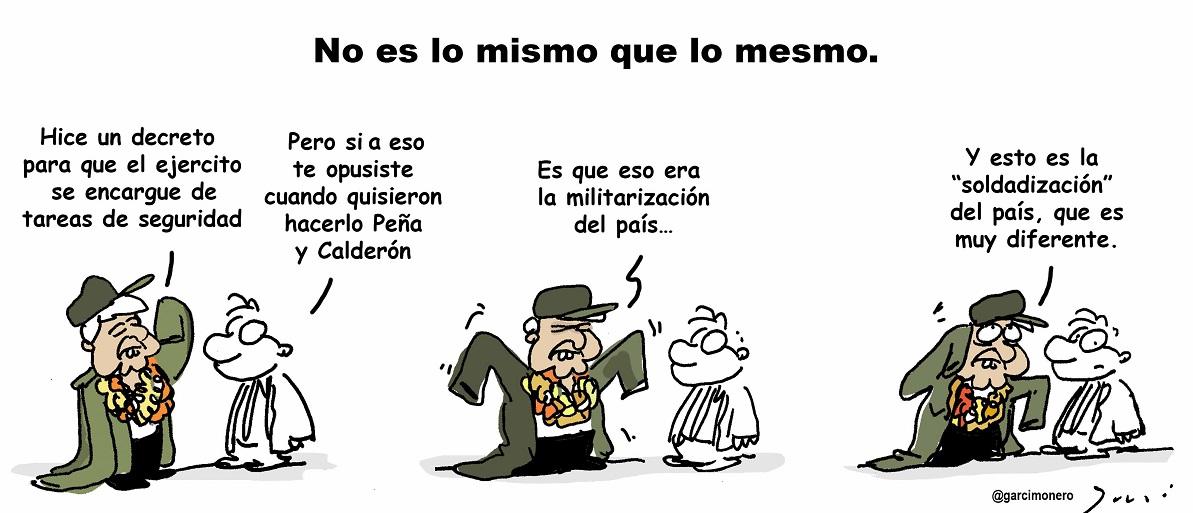 EL MILITARISMO SALIÓ DEL CLÓSET