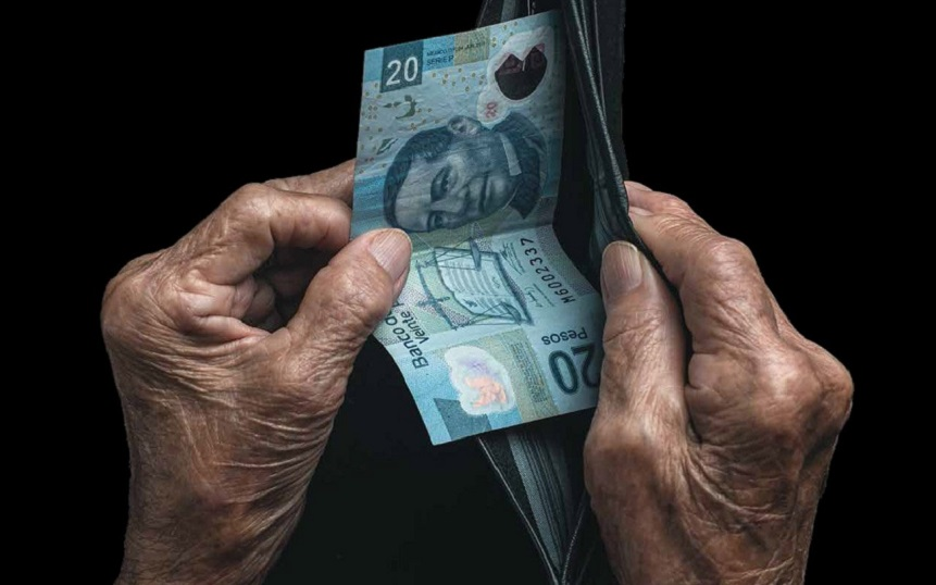 LOS 8 MIL 100 MILLONES DE PESOS ROBADOS HOY AL MAÑANA