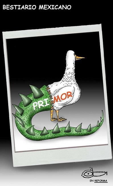 PROTESTAS POR ABSOLUTISMO EN EL PRI