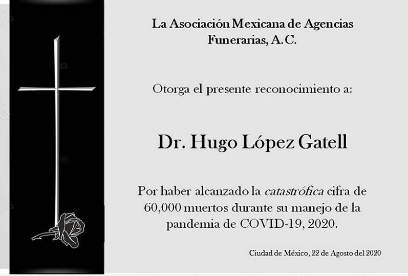 COVID VICTIMA AL DÍA A CASI 16 MEXICANOS