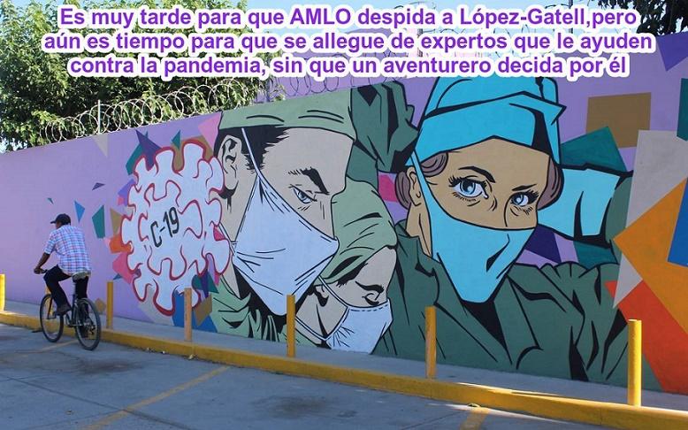 LA REALIDAD APLASTÓ A LÓPEZ-GATELL