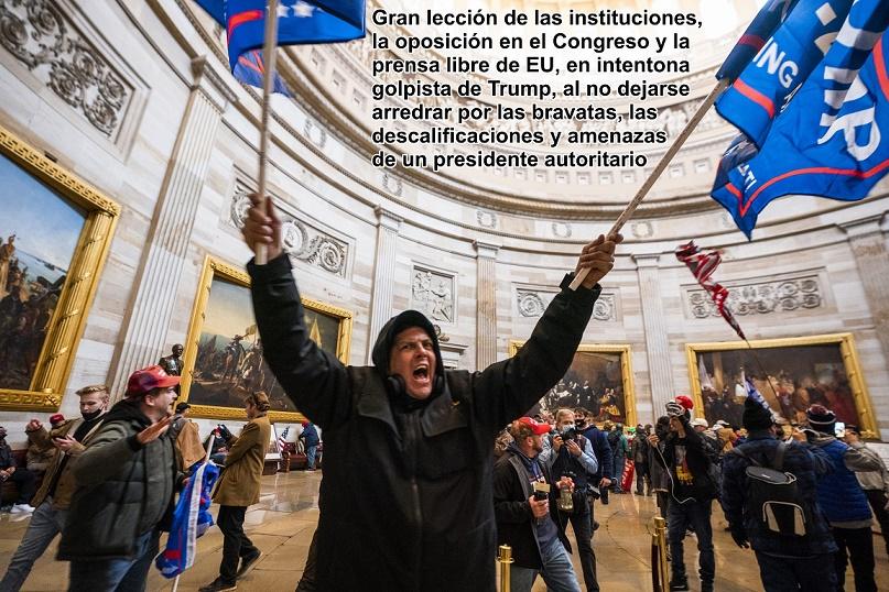 TRUMP, EL PODER QUE YA NO LE CORRESPONDE