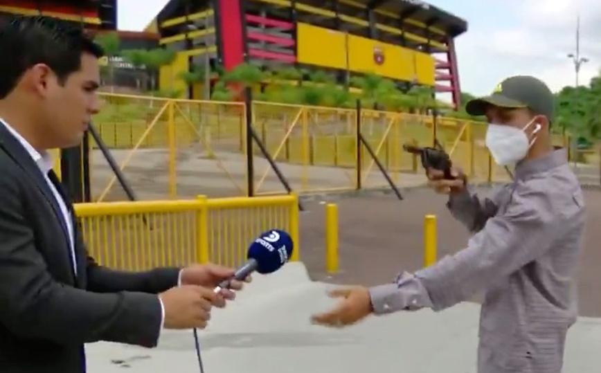 NI PORQUE FUE FILMADO HA SIDO ATRAPADO ASALTANTE DE PERIODISTAS | VIDEO