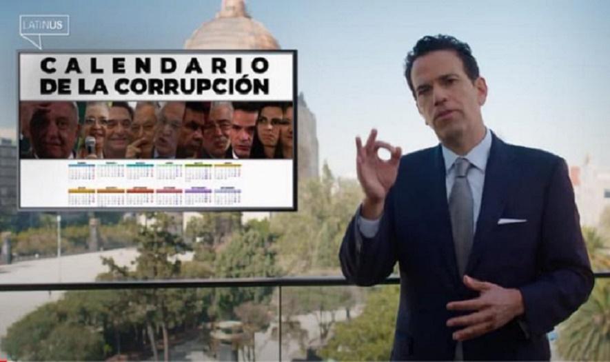 RETO EN VEZ DE RESPUESTA A CALENDARIO DE CORRUPCIÓN | VIDEOS