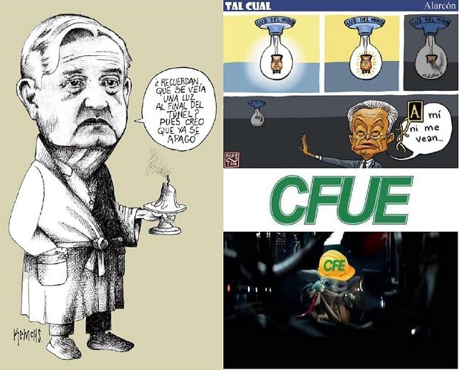 CAOS NACIONAL POR APAGONES: GRAN CONFUSIÓN | EDITORIAL DE HECHO DIGITAL