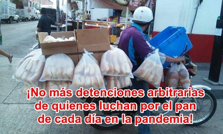 ARRESTOS ABSURDOS DE PANADEROS EN YUCATÁN
