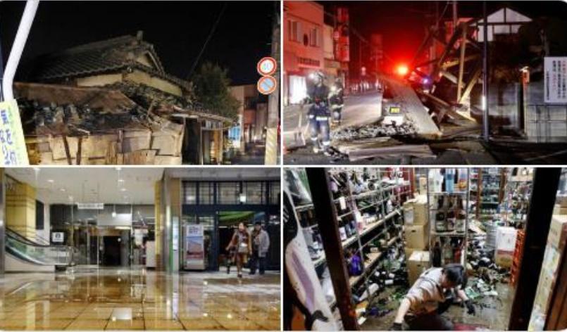 OBRÓ EL MILAGRO EN JAPÓN: NINGÚN MUERTO TRAS EL PODEROSO SISMO