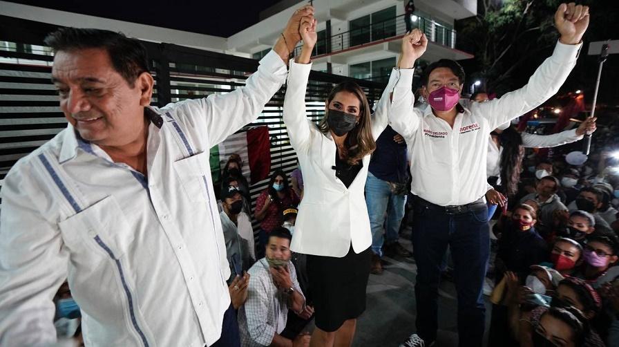 """¡VA """"JUANITA""""!: HIJA DE SALGADO MACEDONIO SUSTITUIRÁ A ÉSTE EN BOLETA ELECTORAL"""