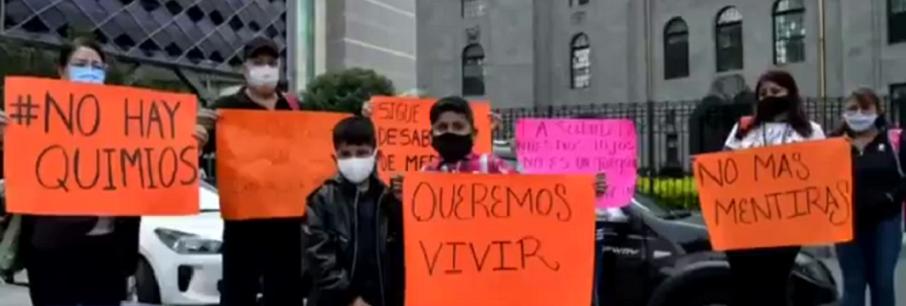 NO DEMUESTRA INSABI A PADRES DE NIÑOS CON CÁNCER, COMPRA DE MEDICAMENTOS