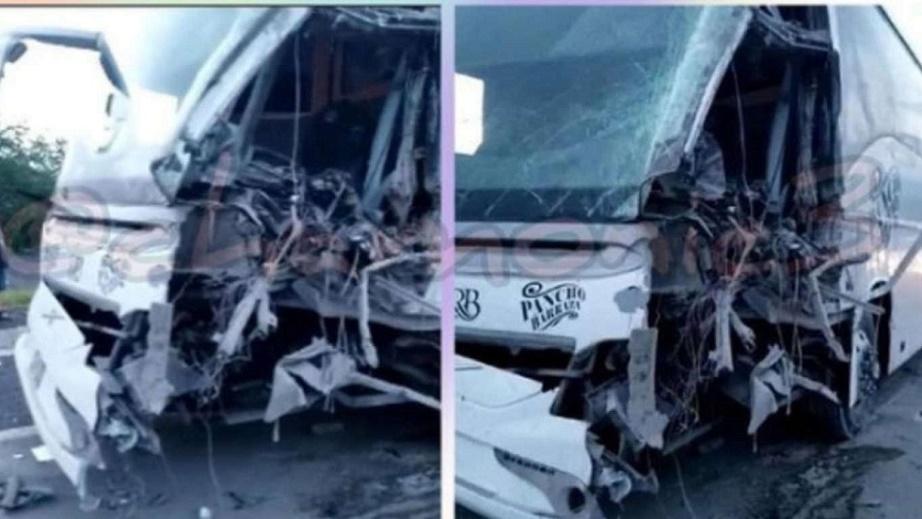 TREMENDO ACCIDENTE CARRETERO, SALEN ILESOS PANCHO BARRAZA Y MÚSICOS   VIDEO