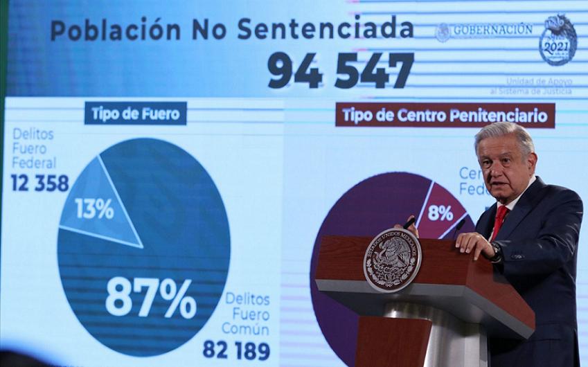 PRESOS A LOS QUE BENEFICIARÁ DECRETO PRESIDENCIAL