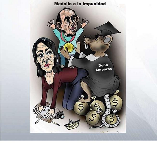 """AZOTAN CON CARTONES A LA JUSTICIA POR AMPARO A """"EL REY DE LA MEZCLILLA"""""""
