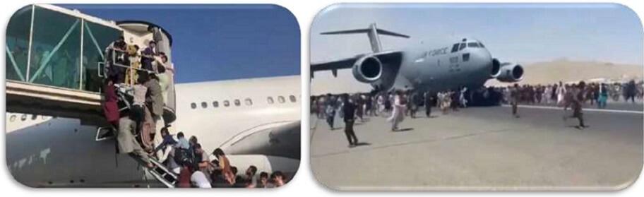 TRÁGICA HUÍDA DE AFGANOS TRAS TOMA DEL PODER POR PARTE DE TALIBANES | VIDEO